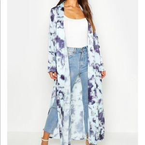 Boohoo Satin duster size 6 SOLD OUT ONLINE
